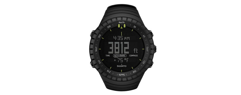 suunto core all black – military altimeter