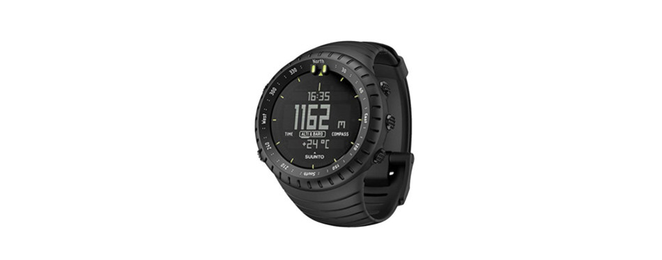 suunto core all black military outdoor sports watch