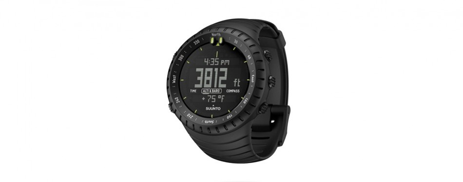 suunto core altimeter watch in all black