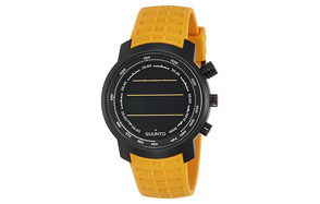 Suunto Elementum Terra Amber Rubber Strap Digital Watch