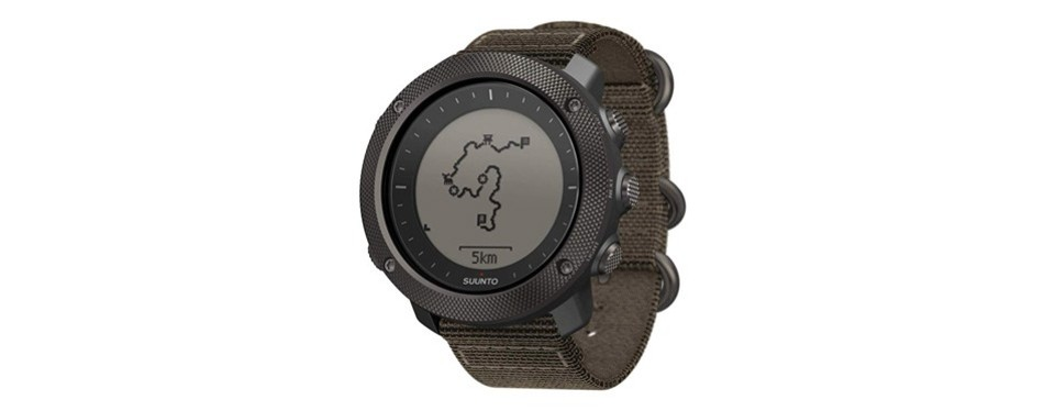 suunto traverse alpha hunting & fishing watch