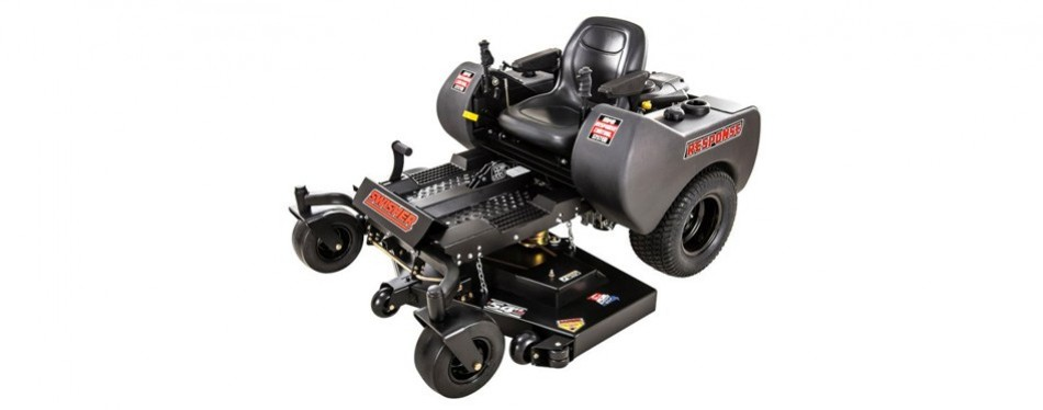 swisher response 54-inch zero riding lawn mower