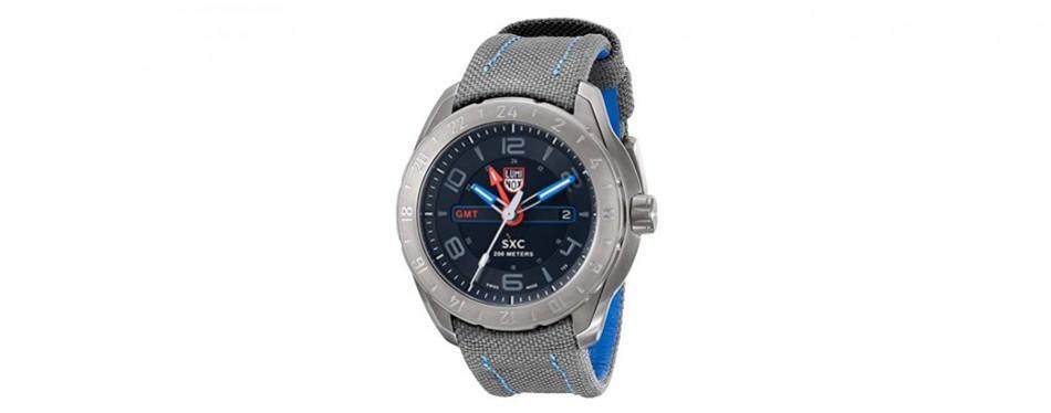 sxc model analog display swiss quartz watch