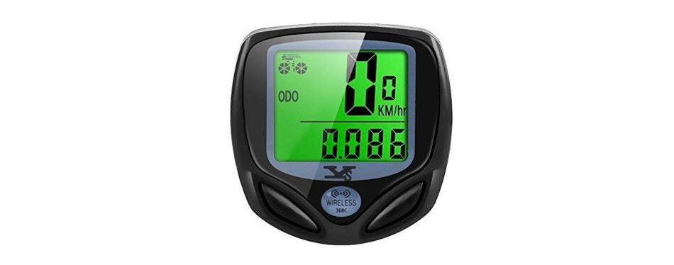 sy bicycle wireless speedometer and odometer