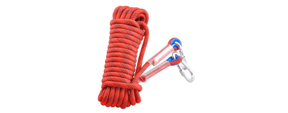 syiswei professional outdoor rock climbing safety rope