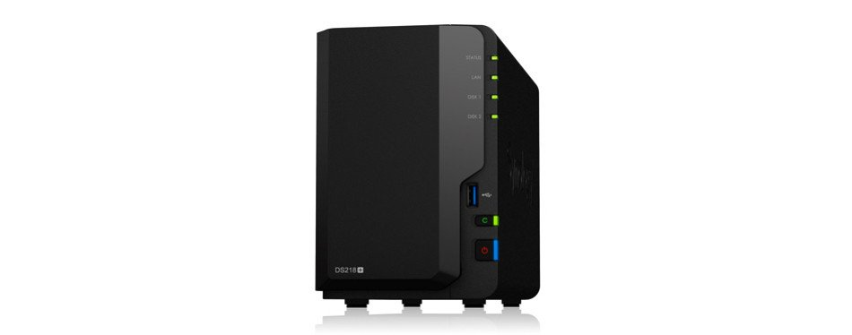 synology 2 bay nas diskless diskstation
