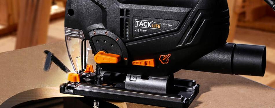 tacklife advanced laser & led jigsaw