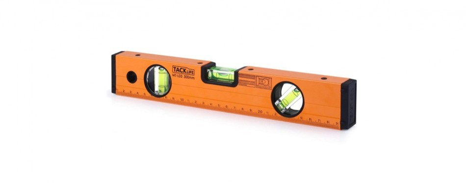 tacklife aluminum alloy magnetic torpedo level