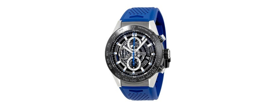 tag carrera chronograph automatic men's watch