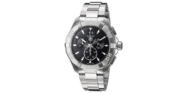 TAG Heuer Aquaracer 300M Chronograph 43mm Black Men's Watch CAV1110.BA0927