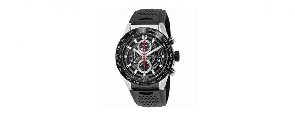 tag heuer carrera automatic skeleton watch