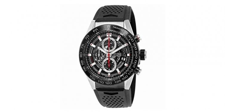 TAG Heuer Carrera Calibre 01 Automatic Skeleton Dial Men's Watch CAR2A1Z.FT6044