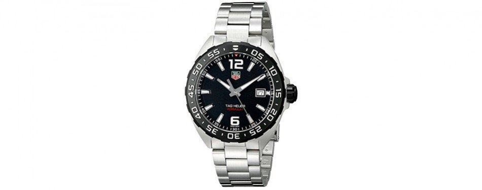 tag heuer men's stainless steel watch
