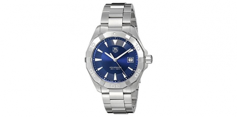 TAG Heuer Men's Swiss Quartz Stainless Steel Casual Watch, Silver-Toned