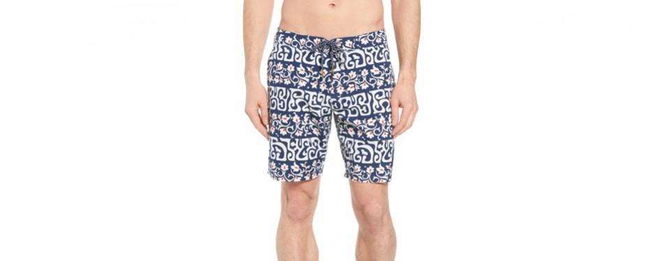 tahitian reyn board shorts / reyn spooner swimming trunk