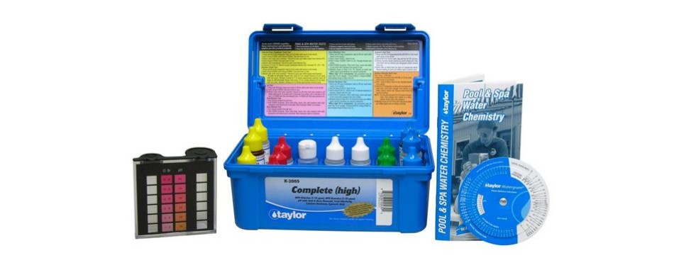 taylor deluxe dpd pool and spa water test kit