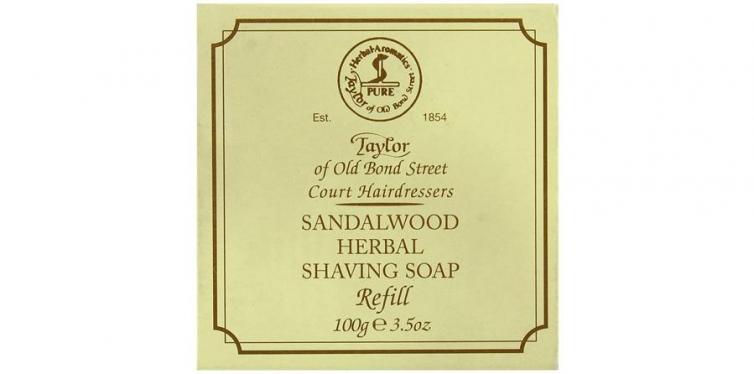 Taylor of Old Bond Street Sandalwood Hard Shaving Soap Refill