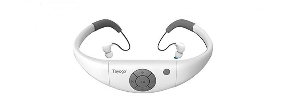 tayogo waterproof mp3 player