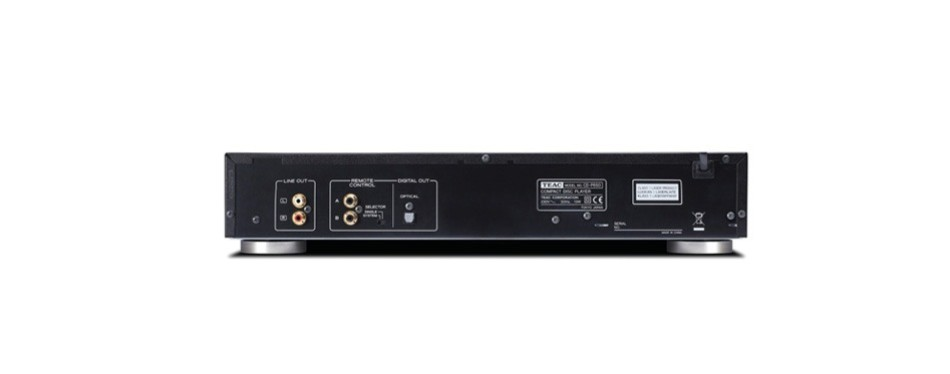 teac cd-p650-b compact disc player