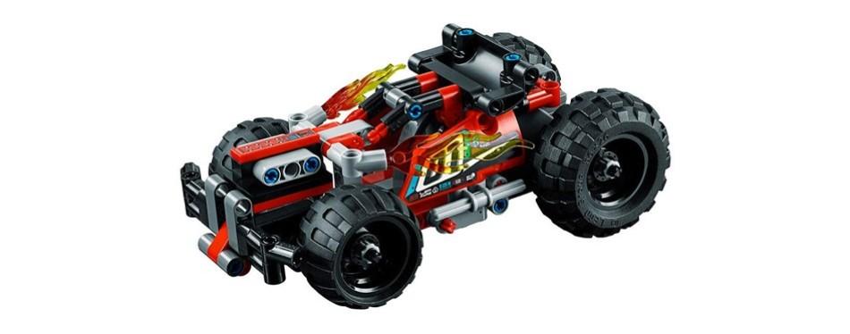 technic bash! lego car