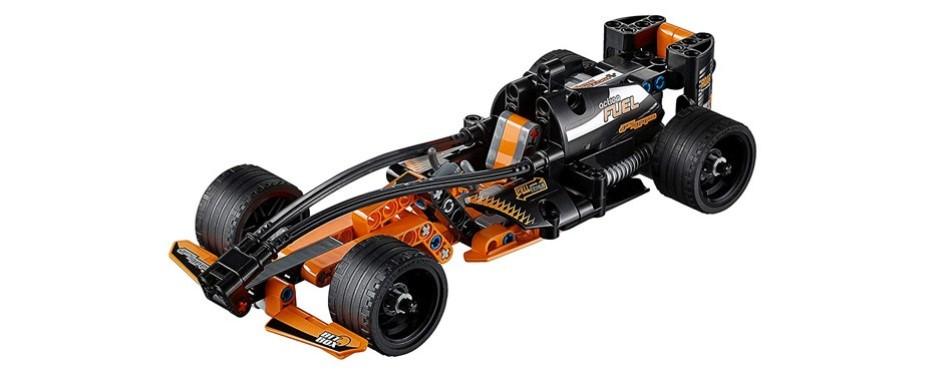 technic black champion racer lego car