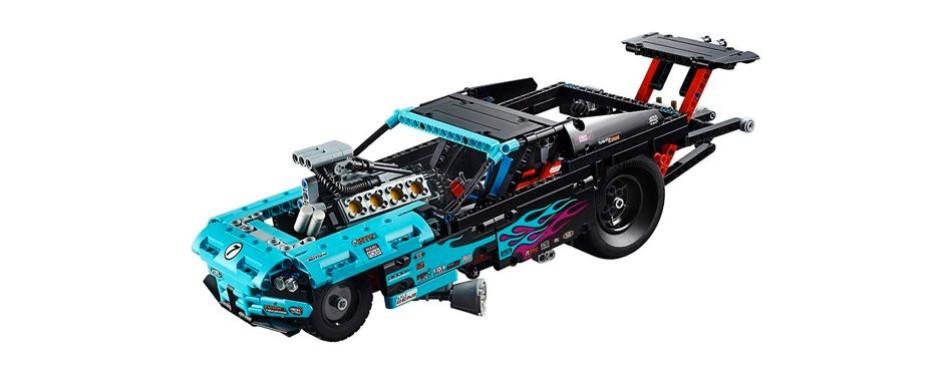 technic drag lego car
