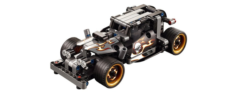 technic getaway racer lego car