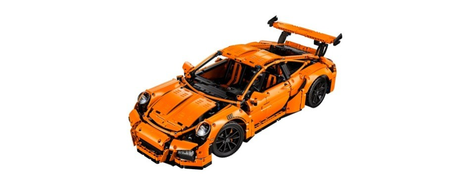 technic porsche 911 gt3 lego set
