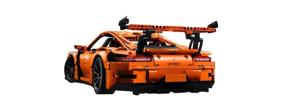 technic porsche 911 gt3 rs lego car