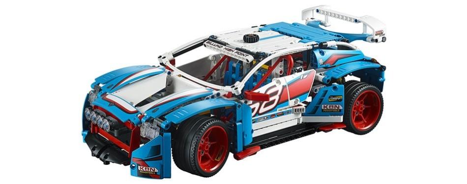 technic rally lego car