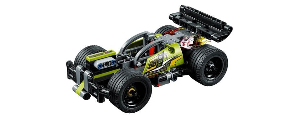 technic whack! race lego car