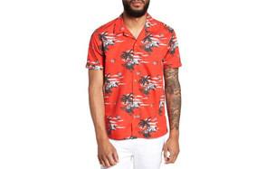 Ted Baker Slim Fit Tropical Hawaiian Shirt
