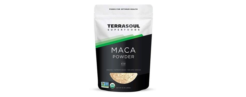 terrasoul superfoods maca powder
