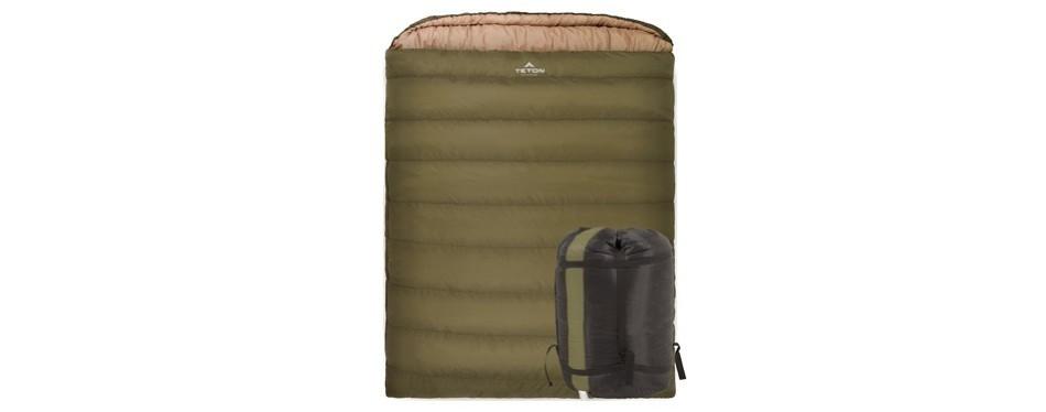 teton sports queen-sized double sleeping bag