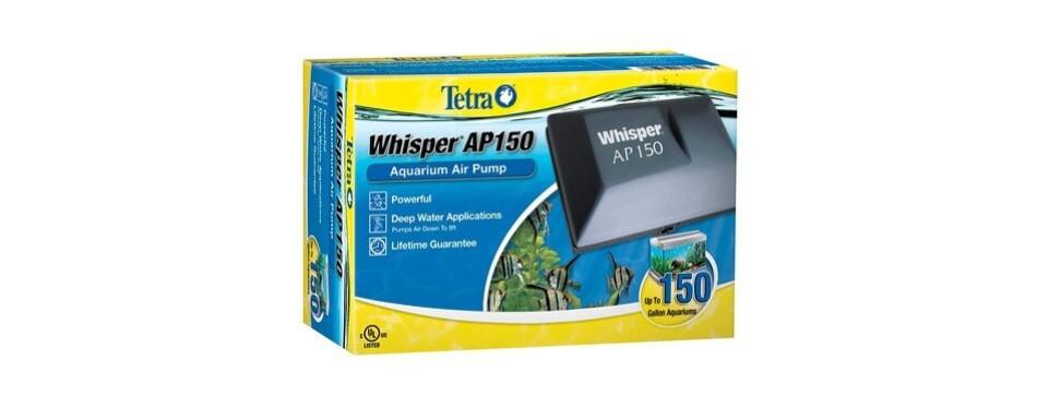 tetra whisper ap 150 aquarium air pump