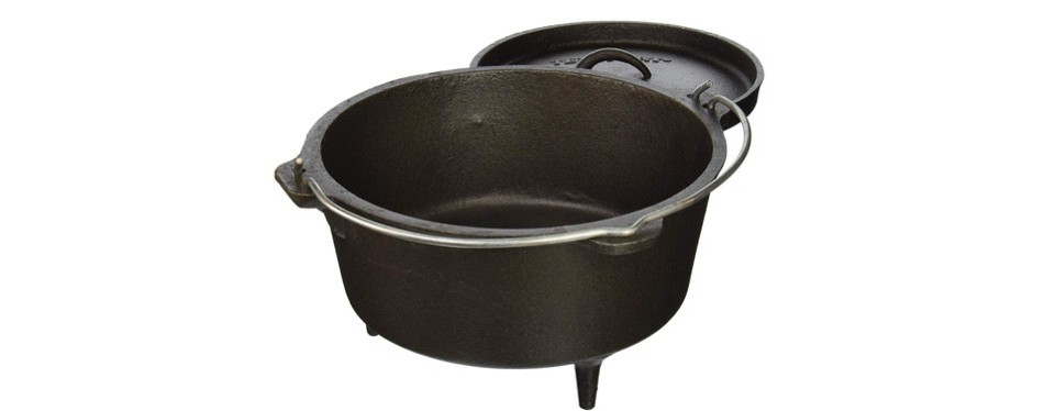 texsport cast iron dutch oven
