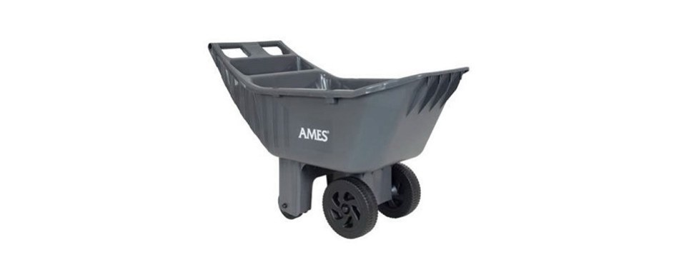 the ames companies, inc 2463875 ames easy roller poly yard cart