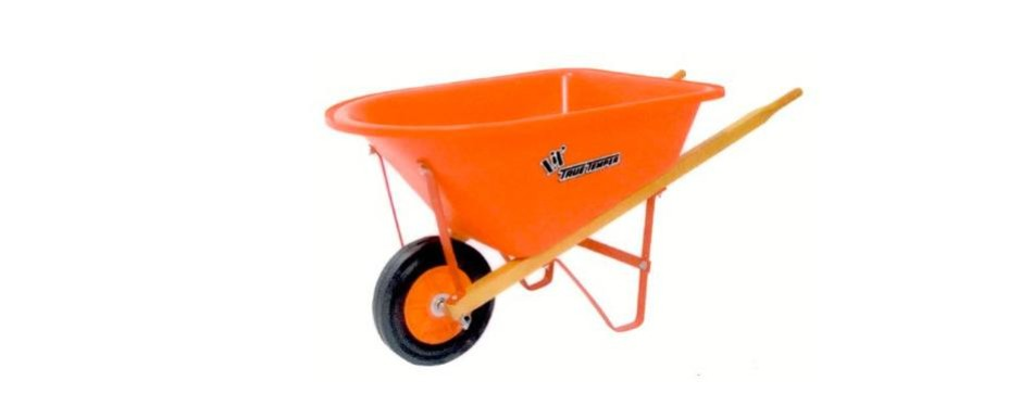 the ames companies, inc kpwb10 1.25cf kids wheelbarrow