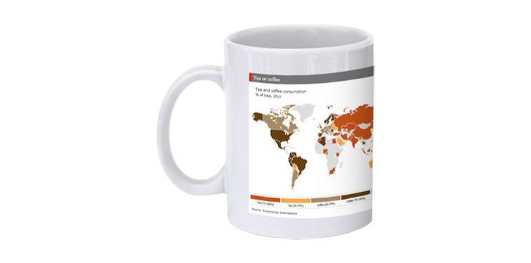 the economist tea and coffee consumption mug