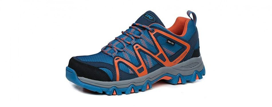 the first outdoor mens lightweight first-tex waterproof shoes