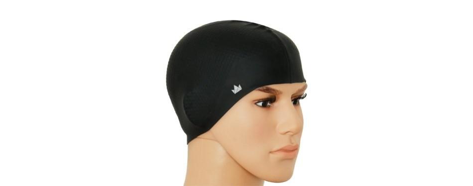 the friendly swede silicone swim caps