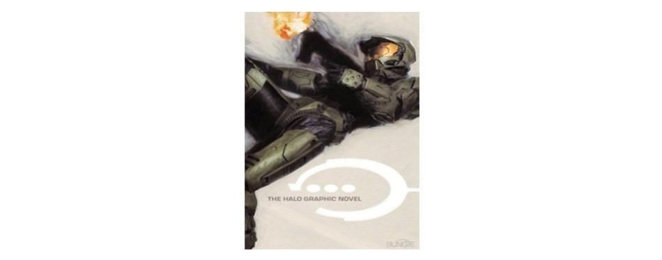 the halo graphic novel by lee hammock, jay faerber, tsutomu nihei, and brett lewis