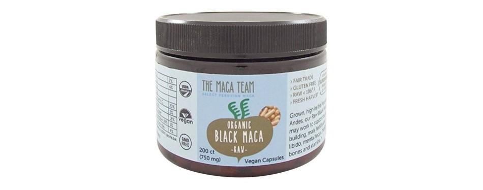 the maca team black maca capsules