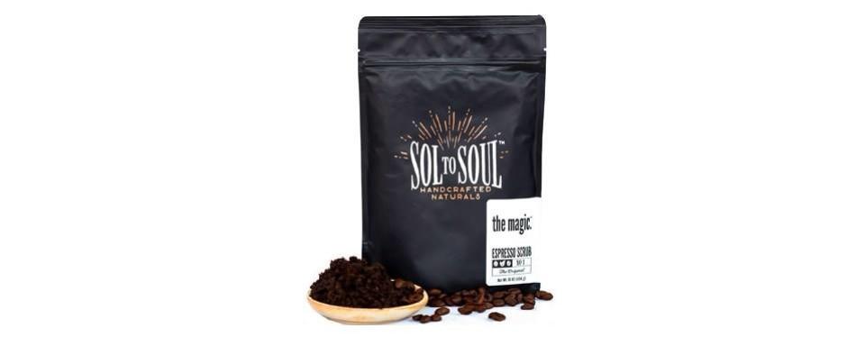 the magic espresso coffee scrub
