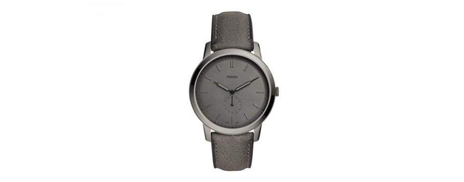 the minimalist two-handed watch