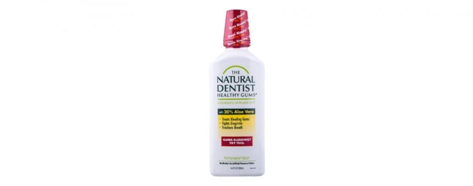 the natural dentist anti-gingivitis mouthwash