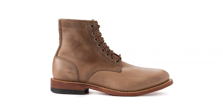 the natural trench boot by oak street bootmakers