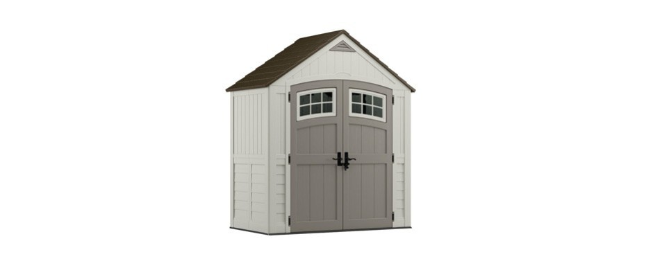 the suncast cascade 6x3 foot storage shed
