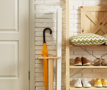declutter your entryway – small fixes for big improvement