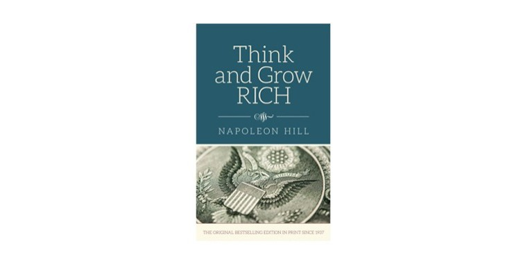 think and grow rich – hardcover book by napoleon hill